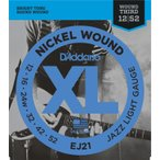 D'Addario EJ21 Nickel Wound, Jazz Light, 12-52 《エレキギター弦》 ダダリオ  【ネコポス】