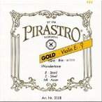 Pirastro Gold ゴールド バイオリン弦 ゴールド セット E線スチール ループエンド(マンスリープレゼント)
