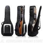 MONO CASE M80 series Dual ACOUSTIC + Electric Guitar M80 2A-BLK (Black) (エレキ+アコースティックギター2本収納ギグバッグ)