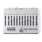 MXR M108S 10 Band Graphic EQ 《エフェクター/イコライザー》【納期未定・ご予約受付中】【送料無料】【マンスリープレゼント】