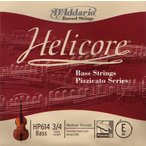 D'Addario HP613 Helicore Bass Strings Pizzicato Series 3A コントラバス弦【ネコポス】