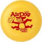 Air Dog エアー・ドッグ 160 フリスビー イエロー (犬のおもちゃ/犬用おもちゃ/フリスビー ディスク )(犬用品/ペット・ペットグッズ/ペット用品/オモチャ)