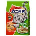 ねこ元気 お魚と野菜ミックス 2kg (ドライフード/成猫用/キャットフード/ユニチャ—ム Unicharm/ペットフード)(猫用品/ねこ ネコ/ペット用品)