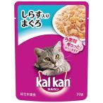 カルカンパウチ 1歳から しらす入りまぐろ 70g (キャットフード ウェットフード レトルトパウチ/Kalkan カルカン/ペットフード)(猫用品/ペット用品)