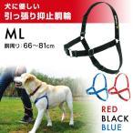 レッドハート 犬に優しい引っ張り抑止胴輪 ML(胴周り66〜81cm)