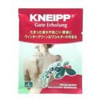 KNEIPP クナイプ ドイツ製バスソルト グーテエアホールング バスソルト ウィンターグリーン & ワコルダーの香り (40g)