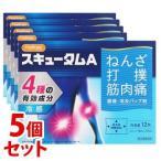 【第3類医薬品】《セット販売》 HapYcom ハピコム 鎮痛・消炎ハップ剤 スキュータムA 冷感 (12枚)×5個セット