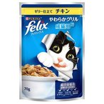 ネスレ ピュリナ フィリックス felix やわらかグリル 成猫用 ゼリー仕立て チキン (70g) キャットフード 総合栄養食