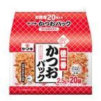 ヤマキ 徳一番 かつおパック (2.5g×20袋) かつお節