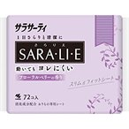 小林製薬 サラサーティ さらりえ Sara・li・e 甘ずっぱいフローラルベリーの香り (72コ入) パンティライナー