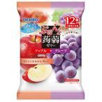 オリヒロ ぷるんと蒟蒻ゼリー パウチ アップル+グレープ (20g×12個入)