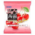 オリヒロ ぷるんと蒟蒻ゼリー パウチ さくらんぼ (20g×6個入) ※軽減税率対象商品