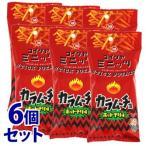 《セット販売》 湖池屋 スリムバッグシリーズ コイケヤミニッツ スティックカラムーチョ ホットチリ味 (40g)×6個セット ※軽減税率対象商品