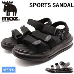 モズ サンダル メンズ 靴 スポーツサンダル 黒 ブラック グレー エアクッション 厚底 疲れにくい カジュアル moz 1805
