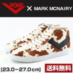 スニーカー ハイカット メンズ レディース 靴 PONY MARK MCNAIRY 170A-AF1 ポニー マーク・マクナイリー