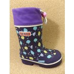 ASAHI アサヒ ペポR610-SP パープルガラ KL71456 │ 子供ブーツ 15.0cm-19.0cm