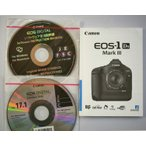Canon キャノン EOS-1Ds MarkIII 取扱説明書/CDロム2枚付(美品中古)