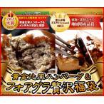 ハンバーグ 4個&フォアグラ4枚 | 送料無料 | 黄金比率ハンバーグ 母の日 グルメ 国産 和牛 肉 冷凍