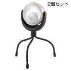 どこでも取り付け「人感センサーライト LED 2個セット」