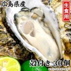 「広島牡蠣(生食用) K13タイプ 殻付き30個」産地直送 広島かき