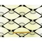 在庫処分 11号 ハンプ 生地 帆布 和柄 扇柄 #71-250112cm巾 綿100% 商用利用可能