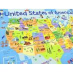 パネル柄生地 USAコットン 生地 布 タイムレストレジャーズ United States of America Map C3741 アメリカ合衆国 地図 Timeless Treasures 商