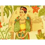 6752A 生地 布 輸入 USAコットン Frida's Garden 6752Aフリーダ メキシコ 女性 画家 THE ALEXANDER HENRY FABRICS アレキサンダーヘンリー ファ