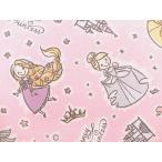 キャラクター生地 布 2017年 入園入学 ディズニープリンセス GR1058−1A ラプンツェル シンデレラ アリエル ベル オーロラ姫 白雪姫 スモック