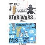 キャラクター生地 布 2017年 入園入学 STAR WARS スターウォーズ G7304-1 エピソード フォースの覚醒 デフォルメ柄 シーチング スモック  商用