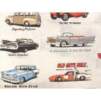 USAコットン 生地 布 Old Guys Rule® オールドガイルール AOD16698−184 60's カリフォルニア アメ車 V8マッスルカー VWキャルルック