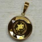 純金金貨 コイン 1 / 30オンス ペンダントヘッド K18YG ペガサス