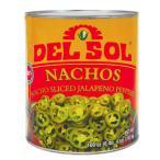 ハラペーニョスライス 缶詰 DEL SOL NACHOS 794g(固形量471g)【缶詰 セット】【非常食】【保存食】【長期保存】