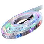 マジック LEDテープライト 5m 光が流れる RGB 最大50M延長可能 防水加工 150leds リモコン操作 SMD5050 LEDテープ 間接照明 led