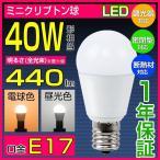 LED電球 E17 ミニクリプトン球 電球色 昼光色 口金 E17 PSタイプ 直径45mm LED 口金e17 ミニクリプトン ミニクリX