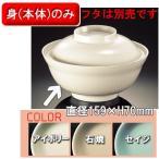 メラミン ベーシック 丼 大 身 全3色 (159×70mm・750cc) マンネン/萬年[86LM-B] 業務用プラスチック製無地食器