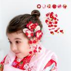 (髪飾り つまみ細工 K 1点) 七五三 髪飾り 花 6colors 3歳 7歳 単品 三歳 女の子 ガールズ (rg)