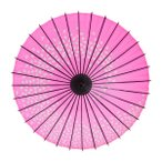 和傘 紙傘 こども用和傘 桜渦 ピンク 一本柄 踊り傘