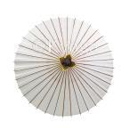 和傘 舞踊用小番傘 白 雨天使用不可 /雨傘/蛇の目傘