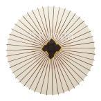 和傘 大番傘 白 別注品 雨天使用可能 /雨傘/蛇の目傘