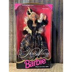 バービー人形 Barbie 1993 Limited Edition The Evening Elegance Series 12 Inch Doll - Golden Winter Barbie with Dress, Jacket, Hairpiece
