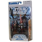Star Wars Clone Wars Action Figure Comic 2-Pack Dark Horse: Republic #69 Asajj Ventress and Tol Skorr