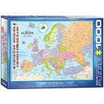 ジグソーパズル 1000ピース ユーログラフィックス ヨーロッパの地図 6000-0789
