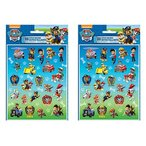 2 Pack 4 Unique PAW Patrol Sticker 22 Stickers Per Sheet bundled by Maven Gifts