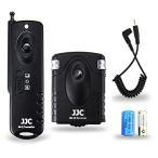 Wireless Shutter Remote Control JJC Remote Shutter Release Controller for Sony A6500 A6400 A6300 A6000 A5100 A5000 A3500 A58 A9 A7 III A7 II A7R II A7
