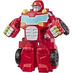 "Transformers Playskool Heroes Rescue Bots Academy Heatwave The Fire-Bot Converting Toy, 4.5"" Action Figure, Toys for Kids Ages 3 & Up"