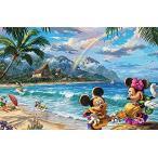 Ceaco 750ピース トーマス キンケード ディズニーコレクション – ミッキーとミニーのジグソーパズル 子供と大人用
