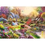 田舎の風景 1000ピース ジグソーパズル 大人 子供用 シーン 油絵スタイル ジグソーパズル ゲーム おもちゃ ギフト ソフトクリック技術 ピースが