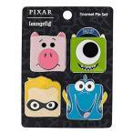Funko Loungefly Pixar コレクション スクエアピン4点セット マイク、ハム、ドリー、ダッシュ、並行輸入品限
