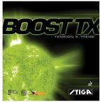 STIGA(スティガ) 卓球 ラバー テンション系裏ソフト ブーストTX レッド 中厚 9891-18
