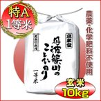 新米 お米 10kg コシヒカリ 玄米 5kg×2 特別栽培米 農薬不使用 兵庫県 丹波篠山産 特A 一等米 送料無料 令和2年産 タイムセール 安い